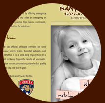 Click here for the official Nanny Poppinz childcare and services information brochure